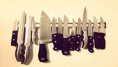 ninja styled knives