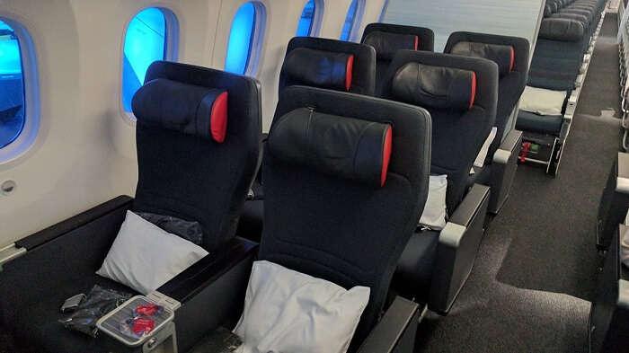 economy class air canada