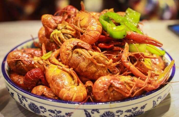 Shanghai Crayfish Lobster China Chinese Dishes