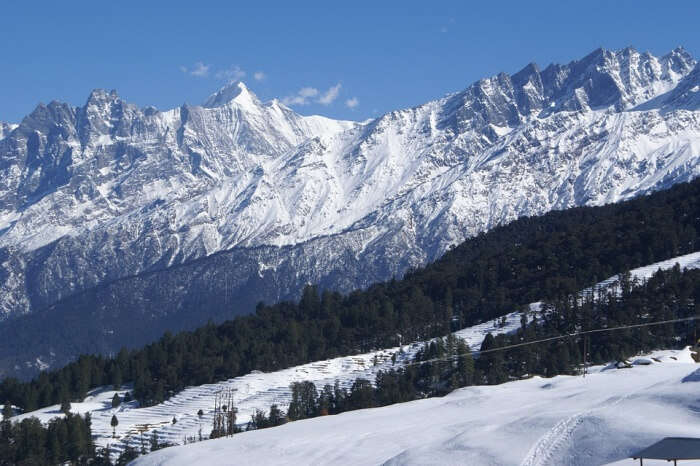 skiing destination of India