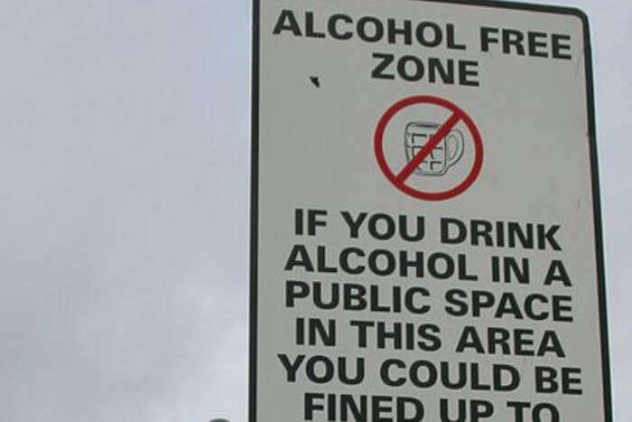 Avoid Drinking In Public
