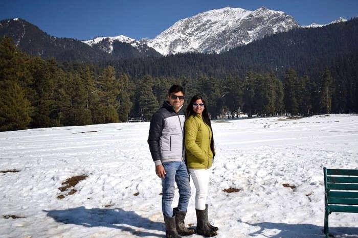 cover - Shishir romantic trip to Kashmir