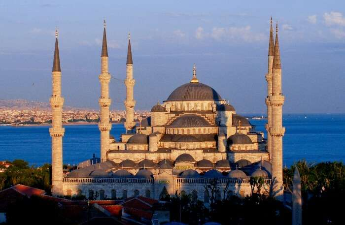 Blue Mosque In Istanbul