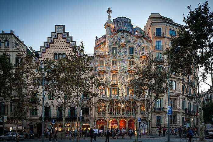 renowned building in Barcelona