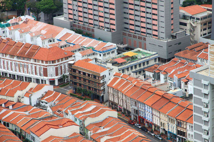 Singapore housing complex