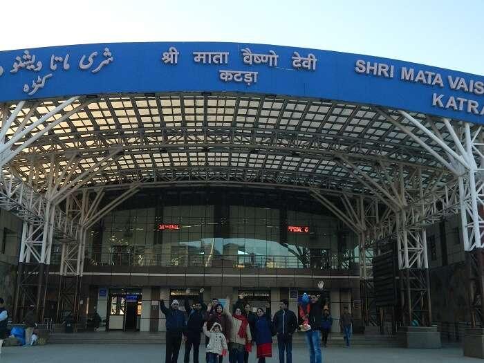 Starting Vaishno Devi darshan yatra from Katra Railway Station