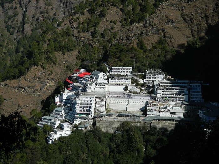 View of Vaishno Devi Bhawan