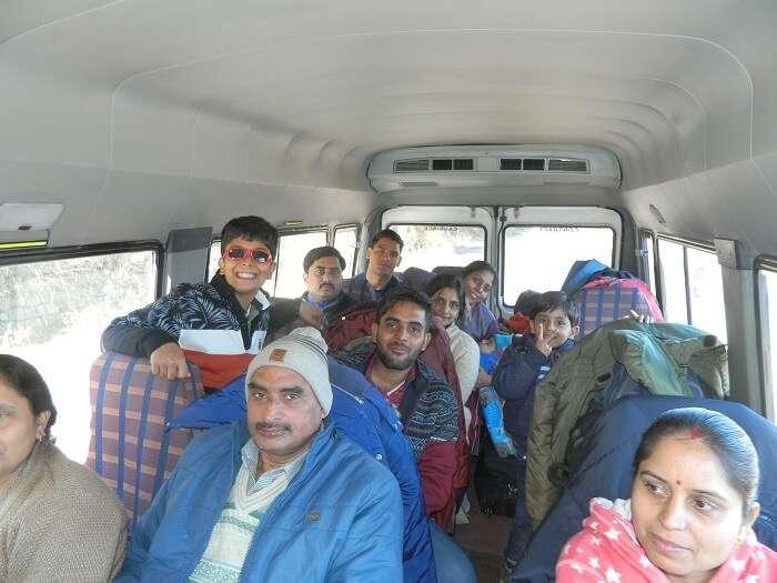 Heading towards Srinagar