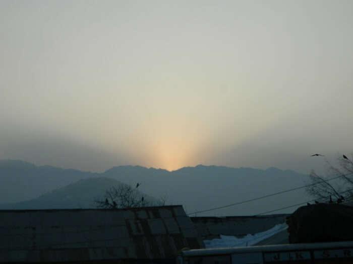 Sunset in Quazigund