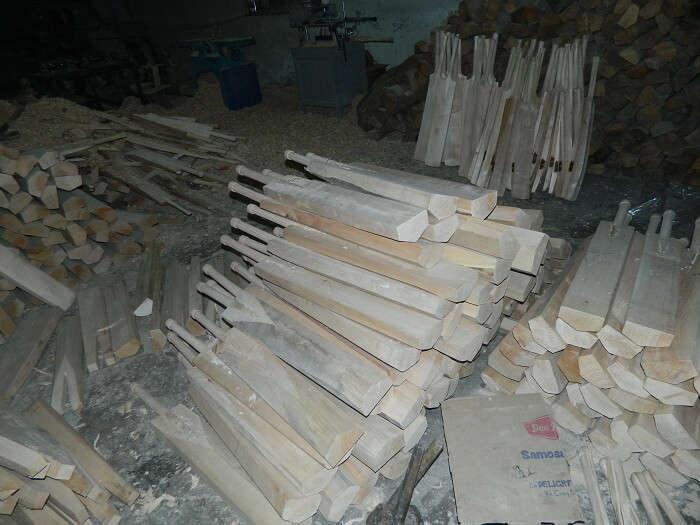 Bat factory near Srinagar