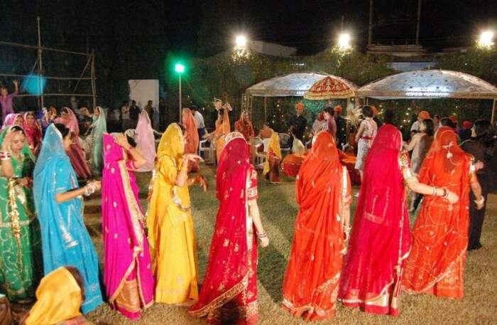 Girls in Ghoomar