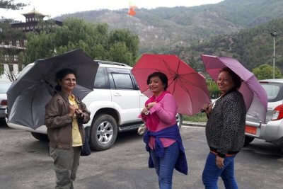 cover - Poornima Thapa family trip to Bhutan
