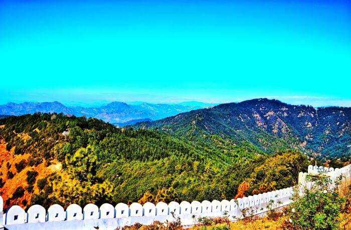 mystical views of Shimla