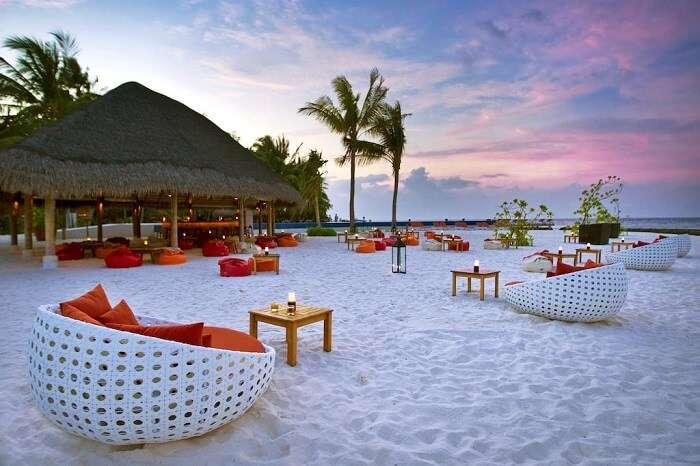 beach side venue