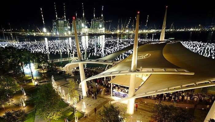 Countdown For New Year Marina Bay
