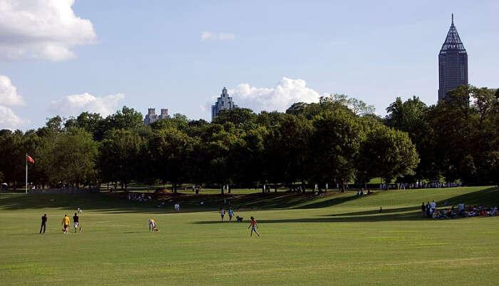 Piedmont Park in Georgia