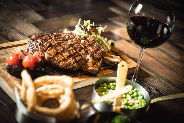 steak along with side orders