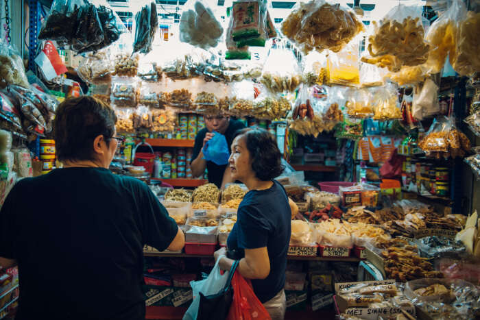 Tiong Bahru Local Food
