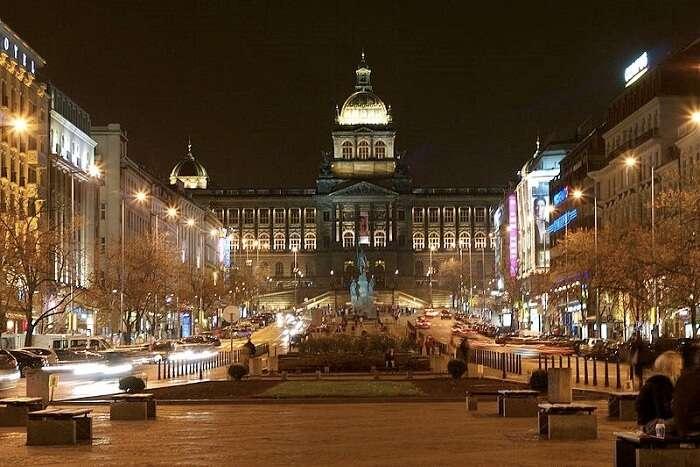 famous square in Prague