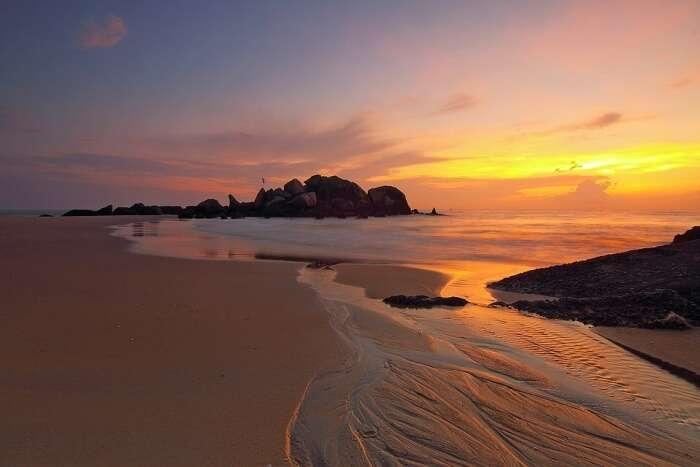 Sleeping Giant Seascape Sunrise