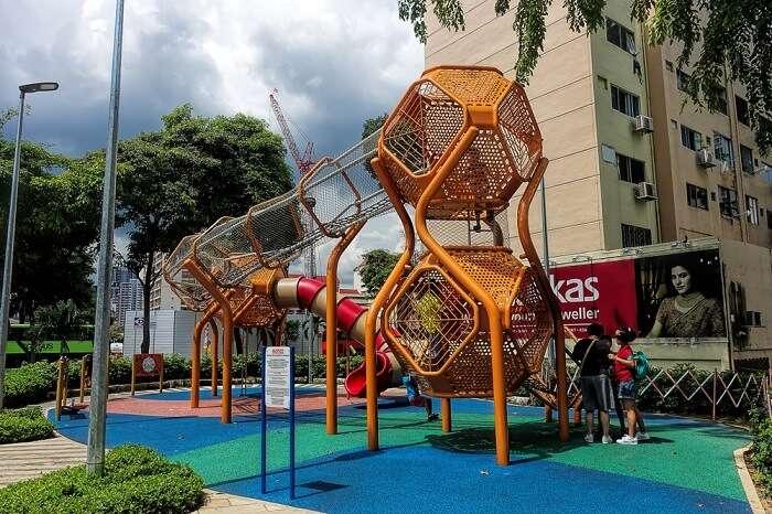 children's park near farrer park