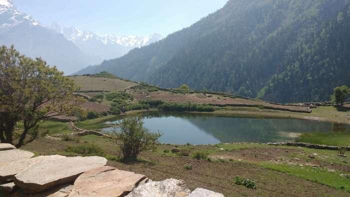 views from the rupin pass trek