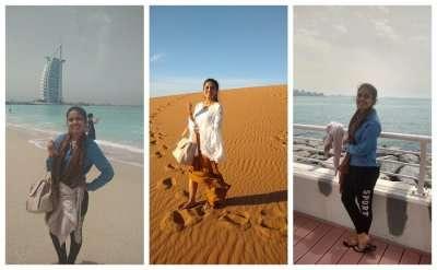Cover - Sushmita's solo trip to Dubai