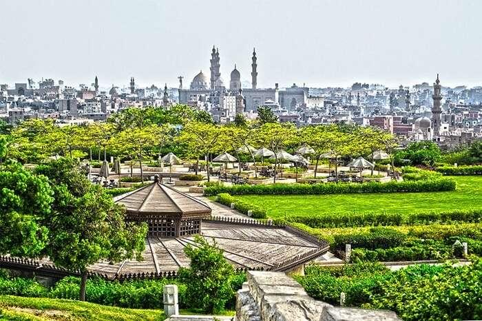 A Walk Through Al Azhar Park
