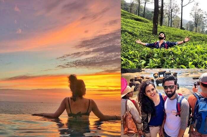 Cover For Amit Shirke's Sri Lanka Honeymoon
