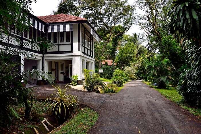 old style house in Singapore