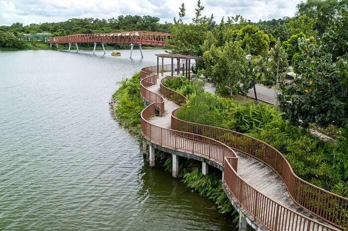 Punggol region in Singapore