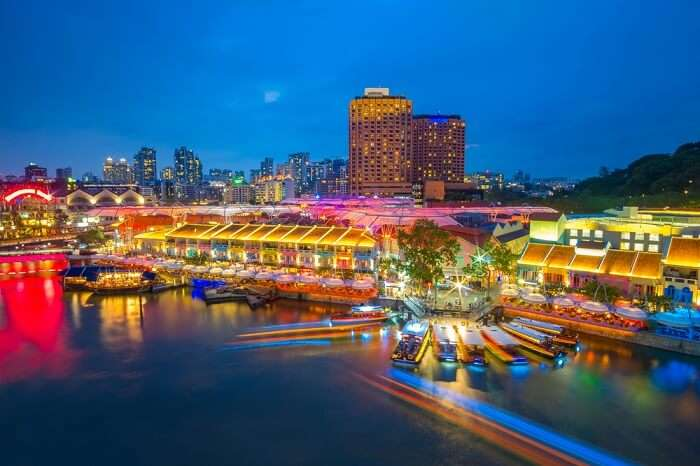 restaurants at Clarke Quay