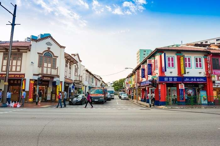 Little India colony in Singapore