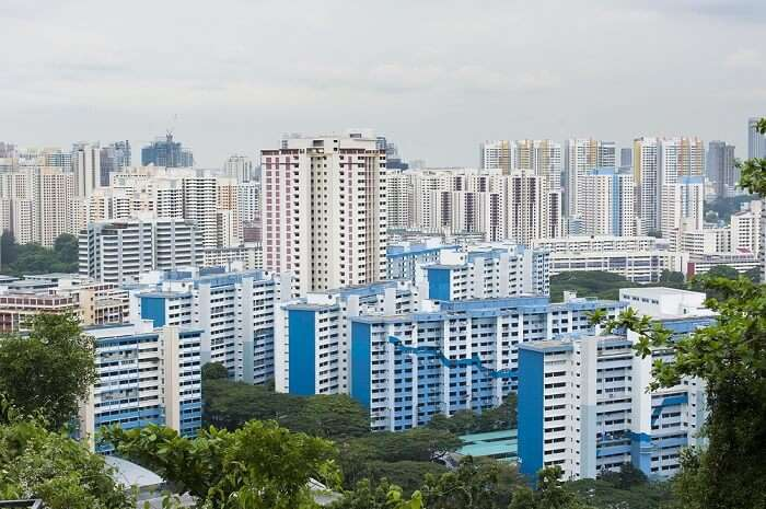 residential area of Singapore