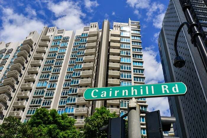 Cairnhill road turn