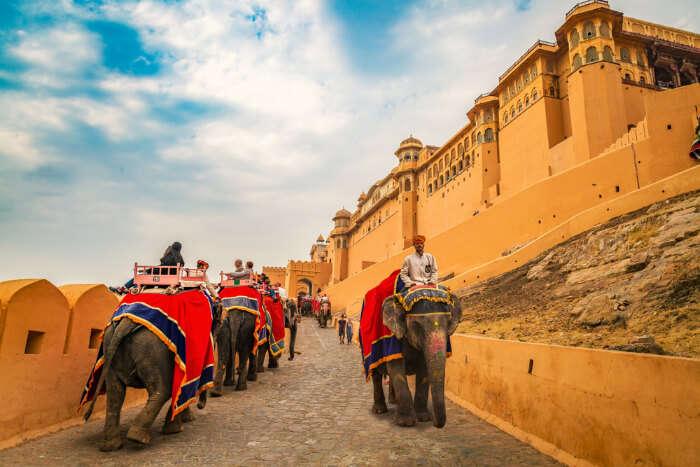 Honeymoon in Rajasthan cover