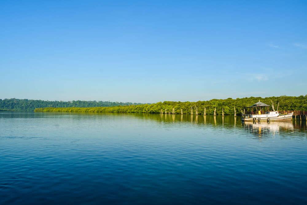 ferry ride to Barren Island