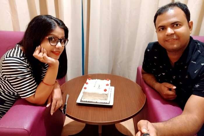 celebrating our first wedding anniversary