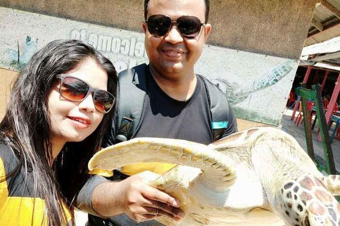 went to the Turtle Island