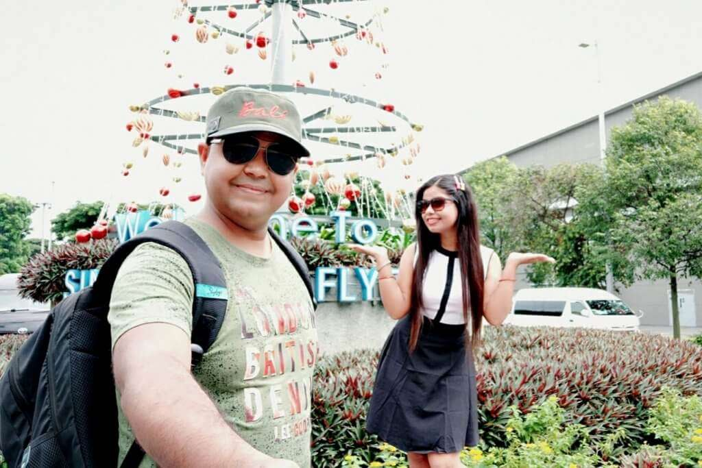 cover - Samapti's Anniversary Trip To Bali & Singapore