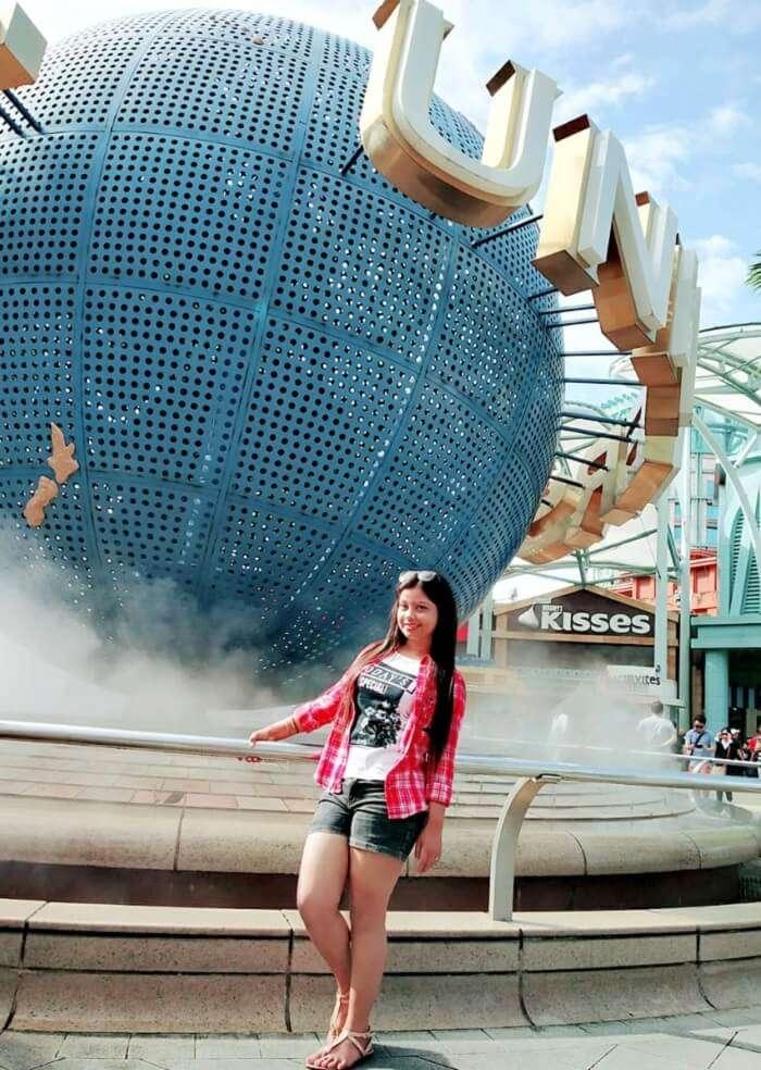 at the Universal Studios