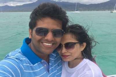 Cover - Somi's honeymoon trip to Mauritius