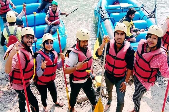 Cover - Shatabdi's Adventrous trip Rishikesh