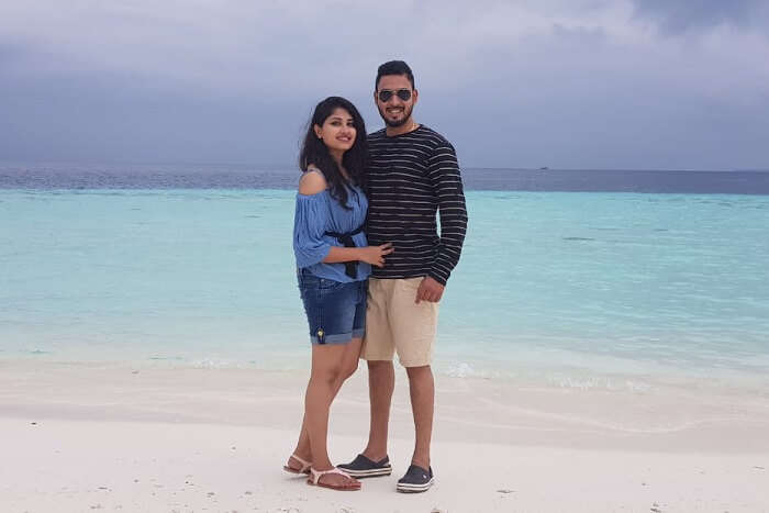 Cover - Praveen's romantic trip to Maldives