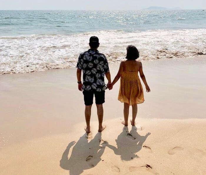 had a perfect romantic vacation