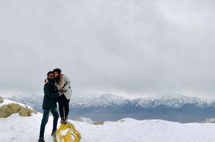 Cover - Saurabh Ladakh trip