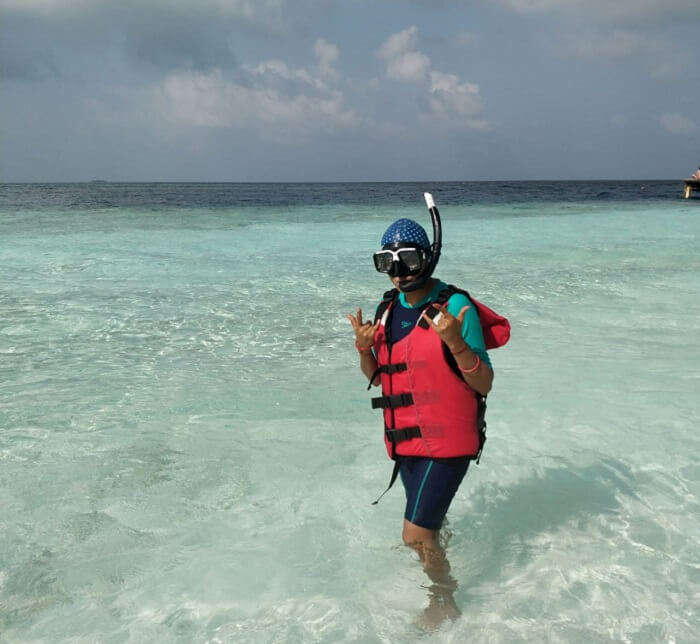 ready for snorkelling