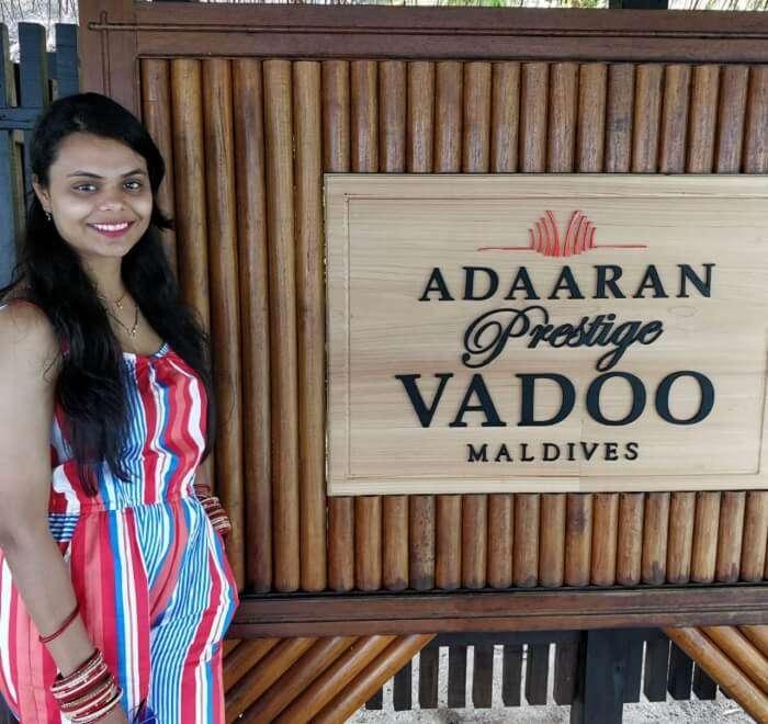our stay at adaaran vaddo vilaa