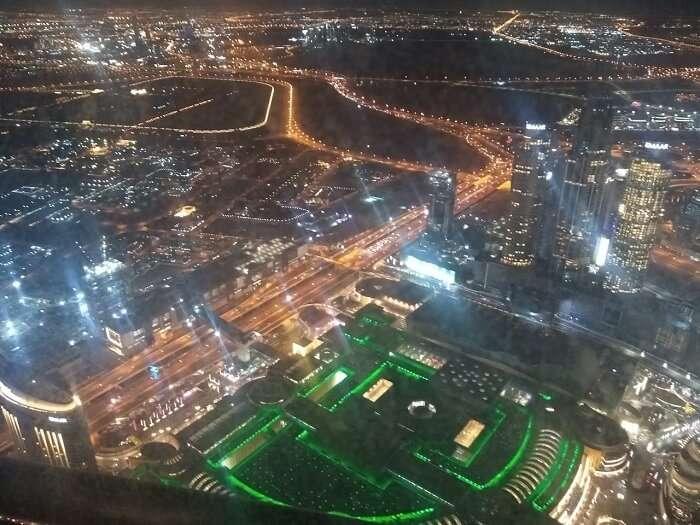 Dubai nightview