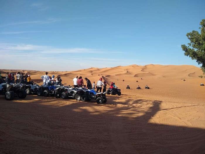 able to explore Dubai